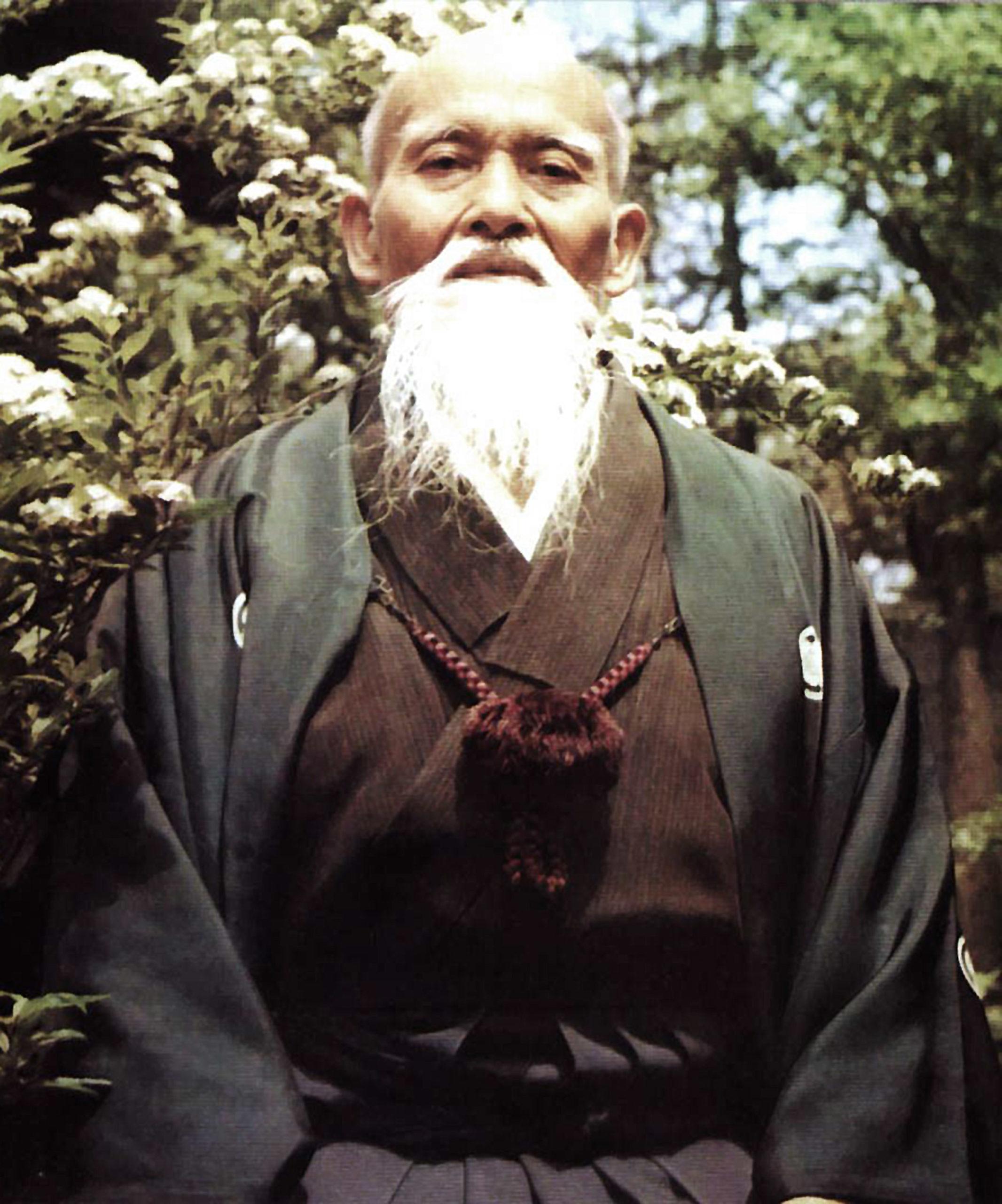 Morihei Ueshiba O'sensei